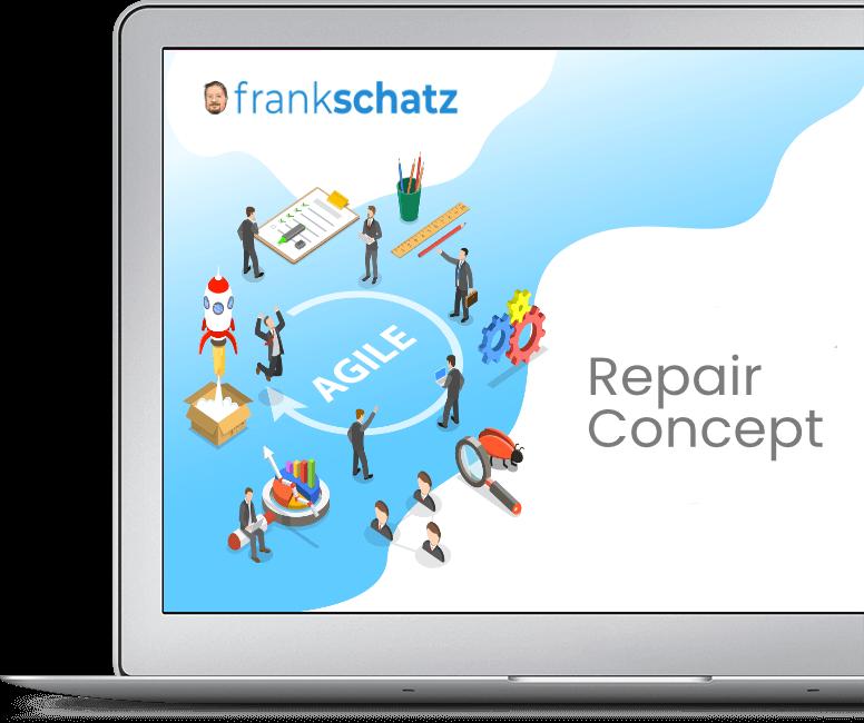 Agile Repair Concept zeigt den Repair Prozess