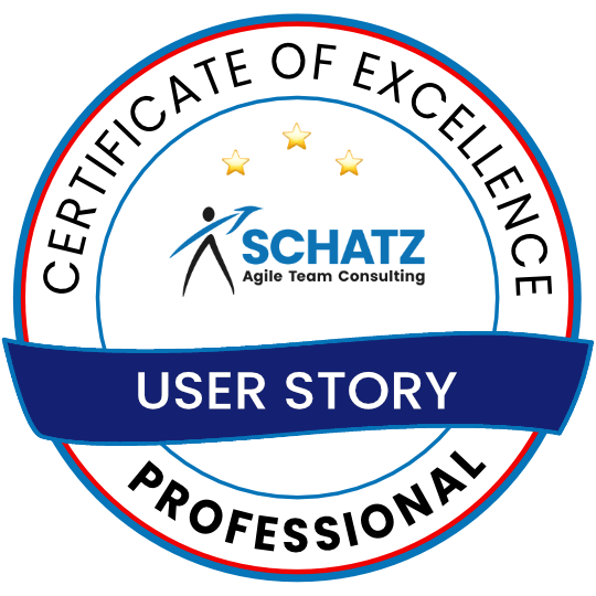 Certified User Story Professional Badge
